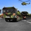 軍の貨物トラックシミュレータ