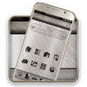 Classy Metal 2D android Theme