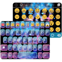 Galaxy Skull Emoji Theme