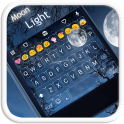 Moonlight Emoji Keyboard Theme
