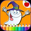 Happy Halloween Coloring Game