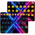 Color Neon Emoji Keyboard