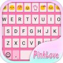 Simple Pink Emoji Keyboard