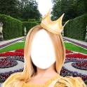 princesse fille montage photo