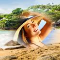 Пляж фоторамки