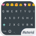 Material Dark Emoji Keyboard