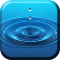 Gota de Água Parede Animado