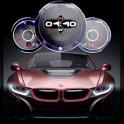 Speedometer Cars Clock Live Wallpaper