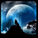 Mond Live-Hintergründe