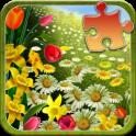 Frühling Puzzle-Spiel