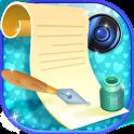 Schreiben Text auf Foto Editor