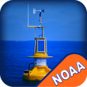 NOAA Buoys Stations & Ships with GPS Tides & Wind