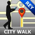 Reykjavik Map and Walks