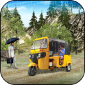 Off Road Tuk Tuk Rickshaw : Passenger Transport 3D