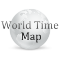 世界時計 World Time Map