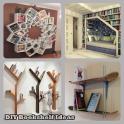DIY Bücherregal-Ideen