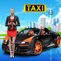 Taxi Car Popular Grand City Dr Drive 3D