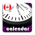 2020 Canada Calendar with Holidays and Observances