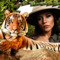 Tiger Bilderrahmen