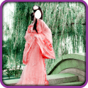 Chinese Dress Photo Montage