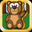 Kids Animal Puzzles - Golden