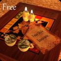 3D Romantic Fireplace Live Wallpaper HD