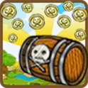 Pirate coin pusher 2D full