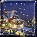 Snow Night Live Wallpaper HD