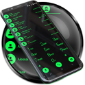 Theme for Drupe and RocketDial and ExDialer BGreen
