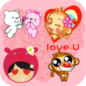 Love Stickers for messenger