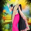 Woman Fancy Saree Photo Suit Editor -Photo Montage
