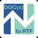 DOC(x) to RTF Converter