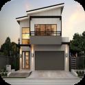 2 Ideas de la casa minimalista del piso