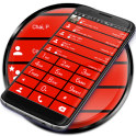 Dialer theme Cards Red