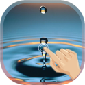 Finger Touch Water Droplet