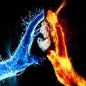 Fire Abstract HD Wallpaper
