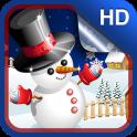 Cute Snowman Live Wallpaper HD