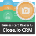 Close CRM Business Card Reader
