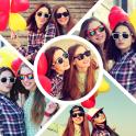 Photo Grid Collage Art