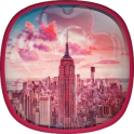 Niedlich New York Hintergrund