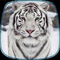 Tigre Branco Papel de Parede
