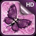 Papillon Fond d'écran Animé