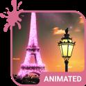 Paris Animated Keyboard + Live Wallpaper