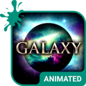 Galaxy Animated Keyboard