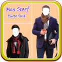 Men Scarf Photo Suit New