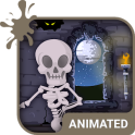 Skeleton Dance 2 Keyboard + Live Wallpaper