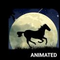 Wild Horse Animated Keyboard