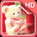 Teddybär Liebe Live Wallpaper