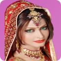 Dress up the beautiful Indian girl