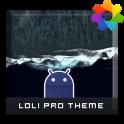 Lolli Pro Theme For Xperia
